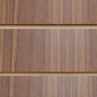 Walnut Slatwall Panel 1200 x 1200