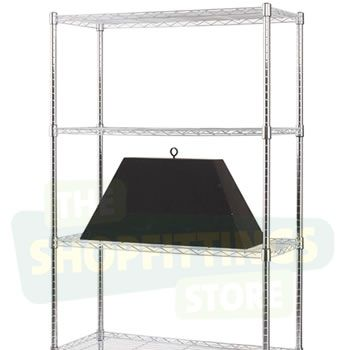 Chrome Shelving Unit - 2083mm Tall
